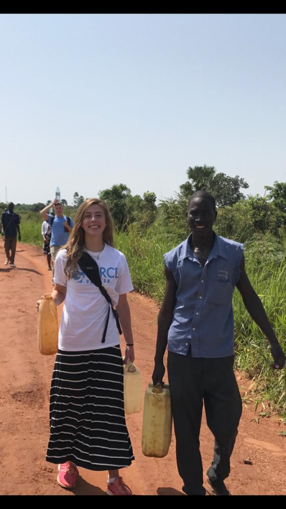 Kyra in Uganda