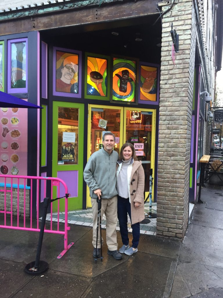 Voodoo Donuts are a Portland institution