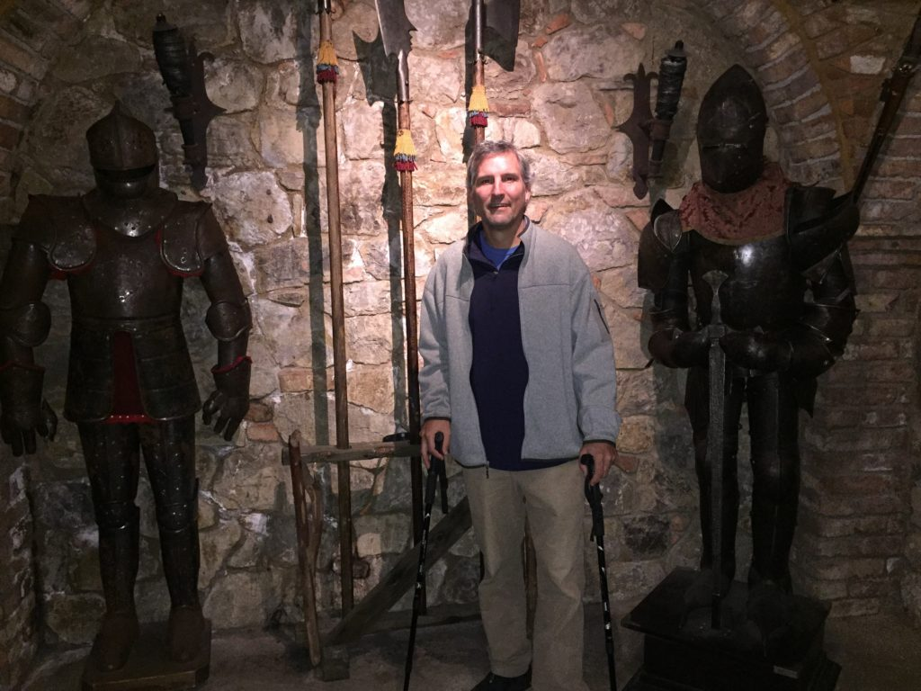 Graham visits the torture chamber