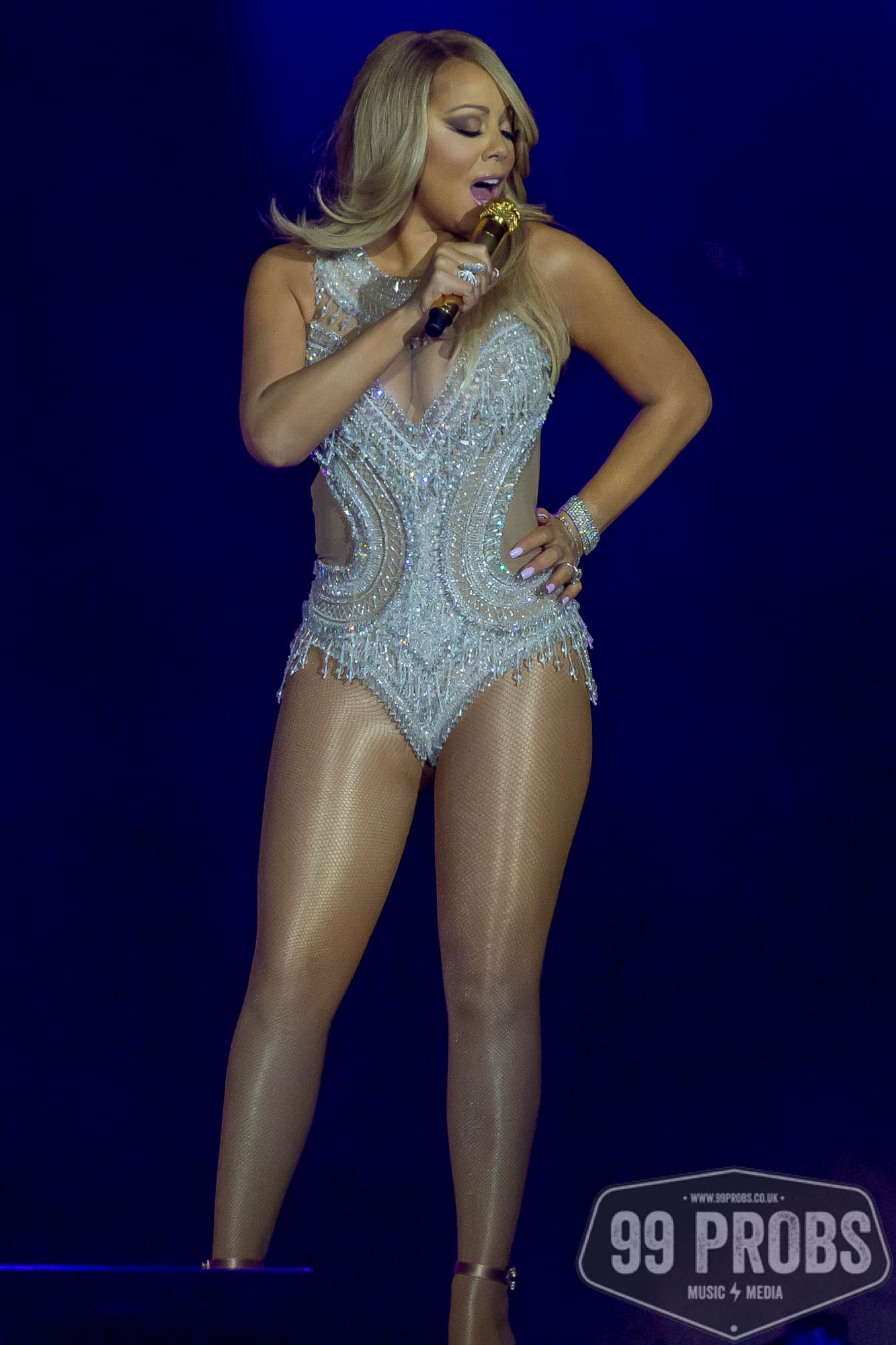 Mariah Carey performs live at the London O2 Arena - 99PROBS Music