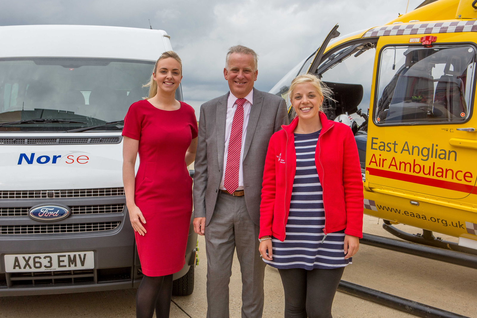 Commercial Photography Norfolk - East Anglian Air Ambulance