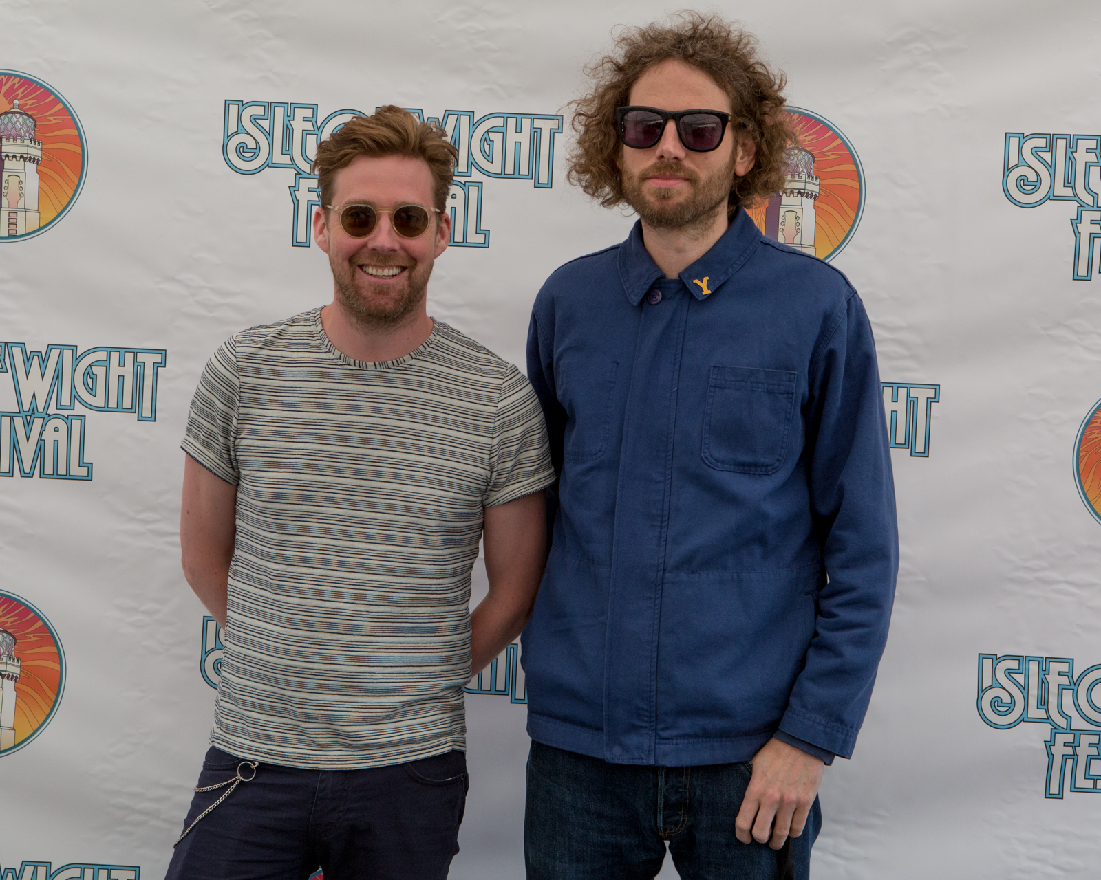 Ricky Wilson of Kaiser Chiefs at Isle of Wight Festival
