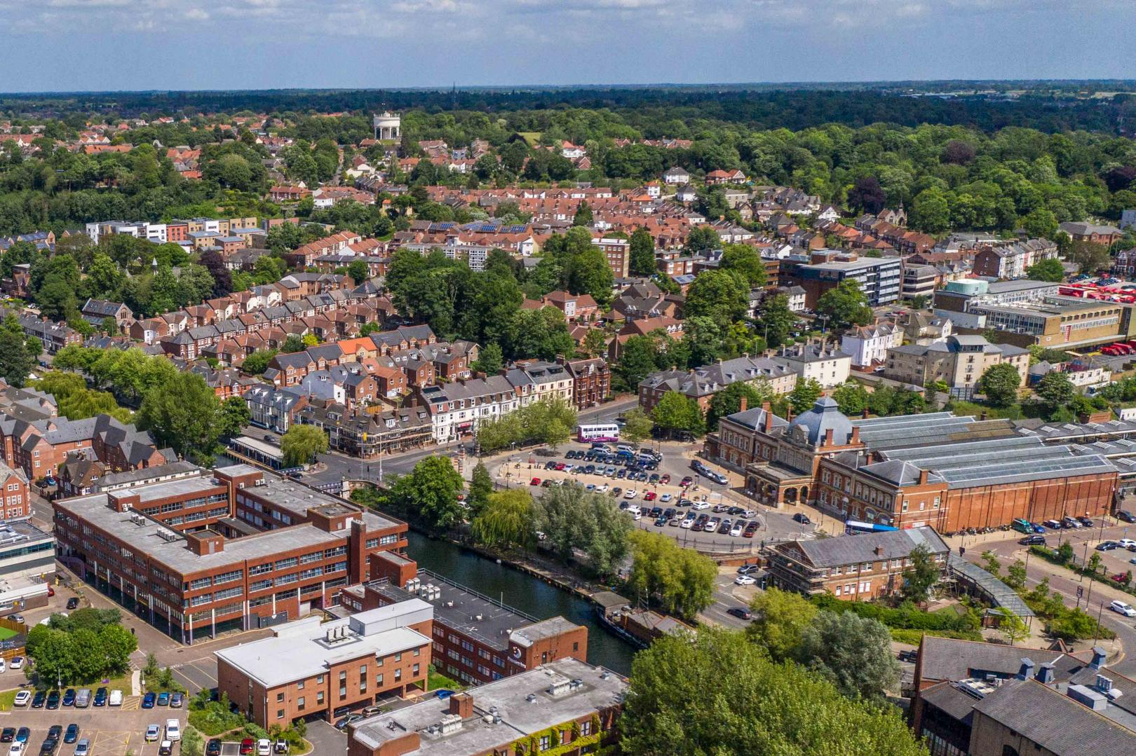 Norwich Aerial Photography and filming