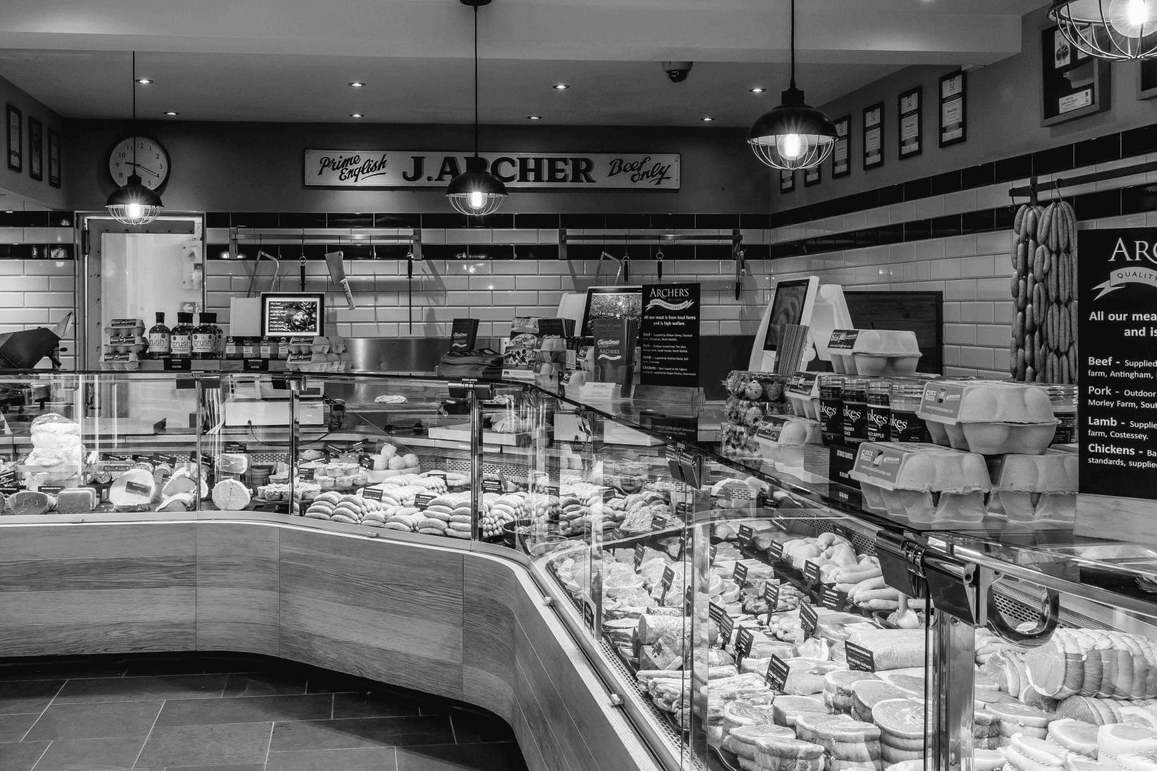 Commercial Photography Norwich- The Butchery