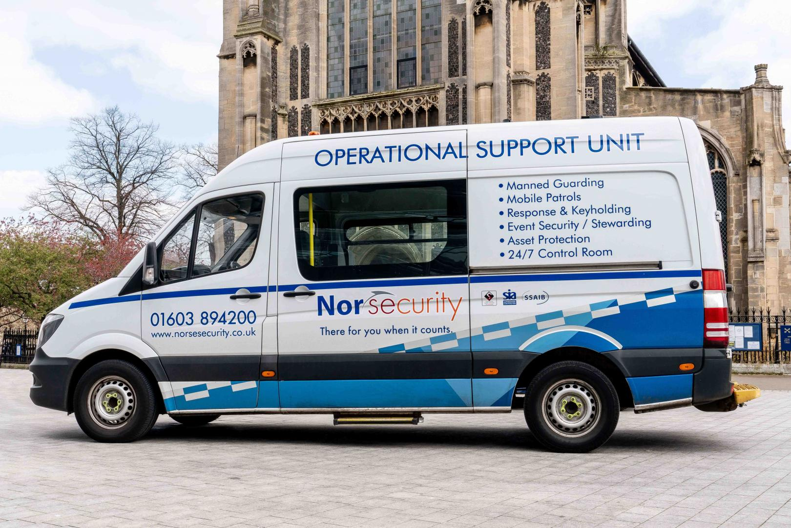 Norwich Business Photography for security companies