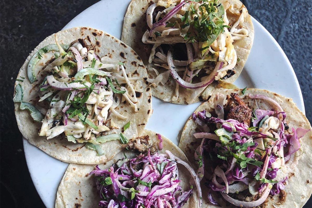 Ex-Voto Smoked Carnitas Tacos