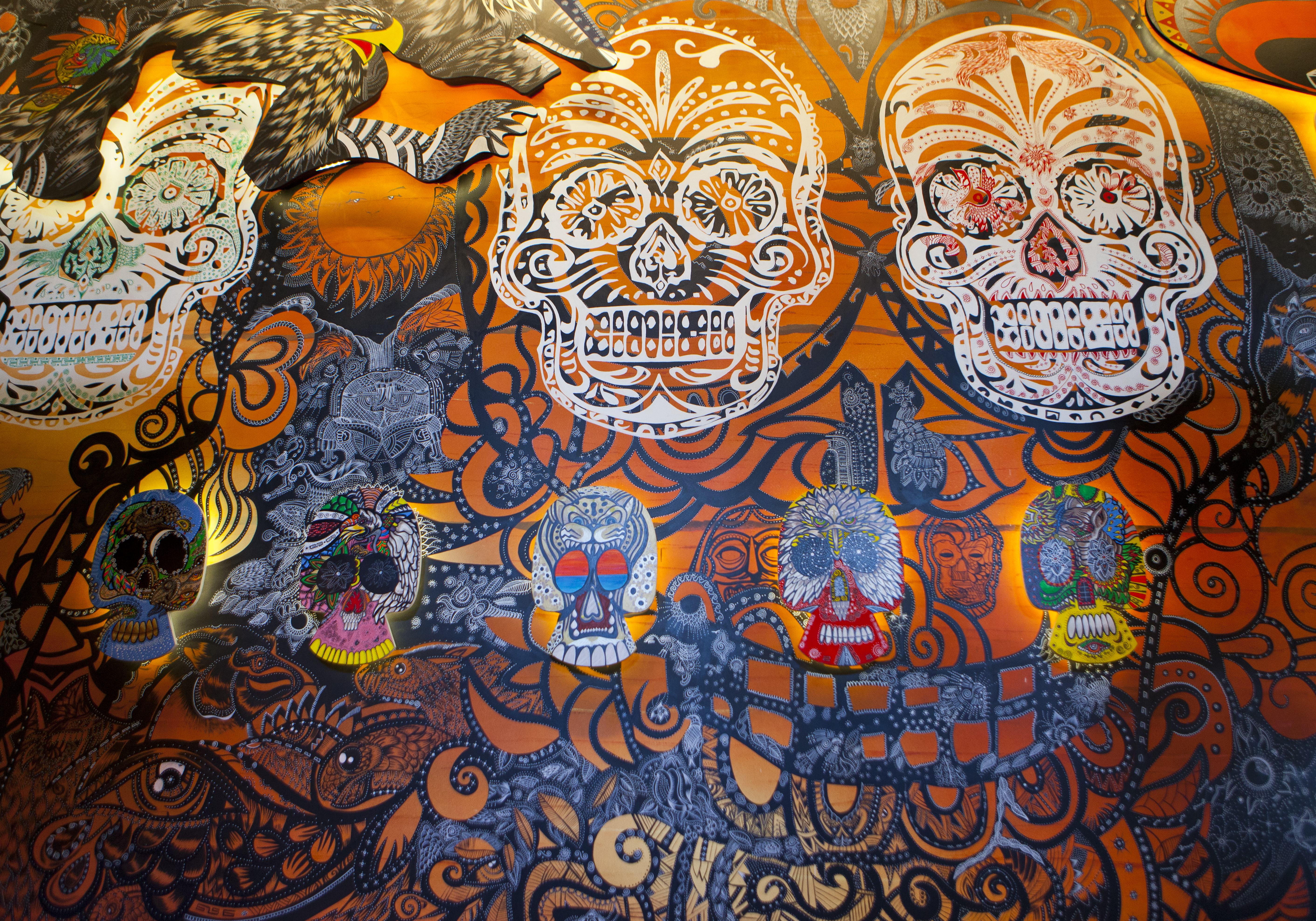 El Catrin Mural 1