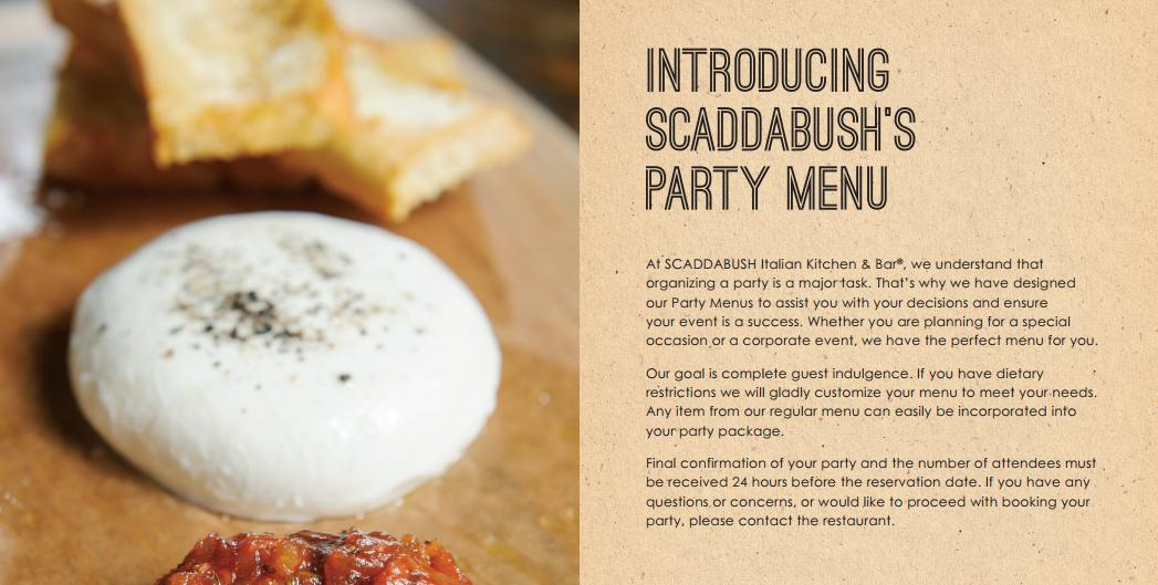 scaDDABUSH PARTY