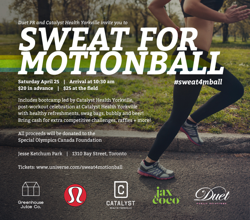 Sweat for motionball Invite (1)