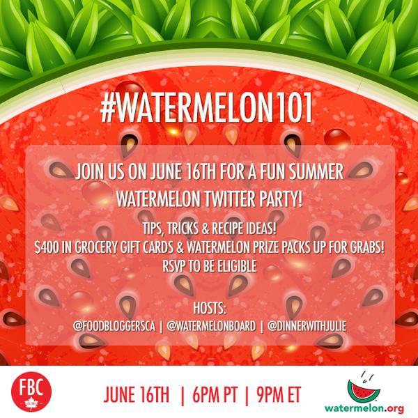 Food Bloggers Watermelon
