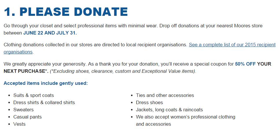 #SuitDrive Please Donate