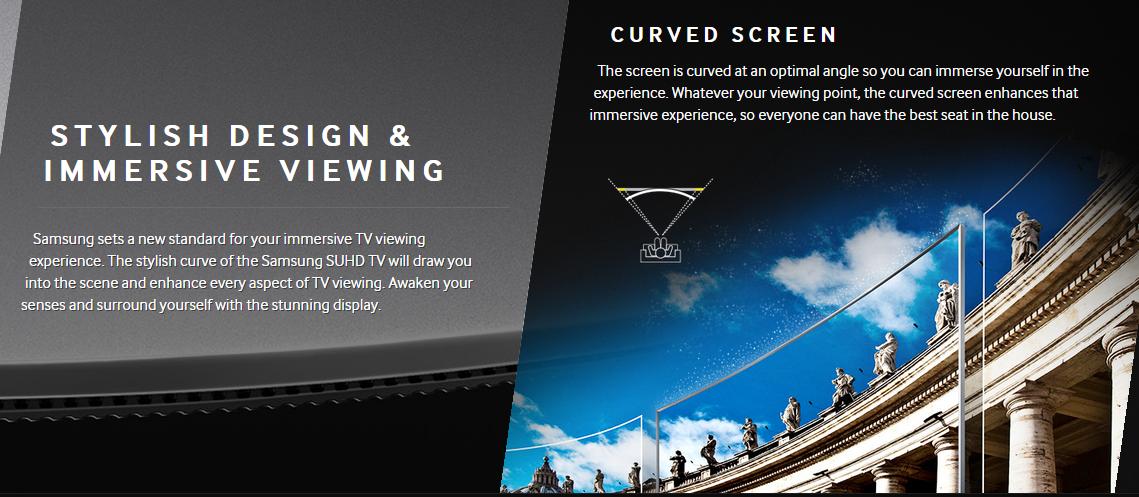 #SeeMoreFeelMore Samsung SUHD TV 2