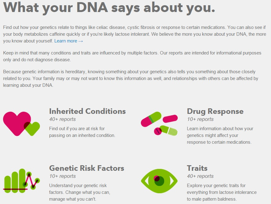 #23andMe #DoTheDaniel What your DNA says about you