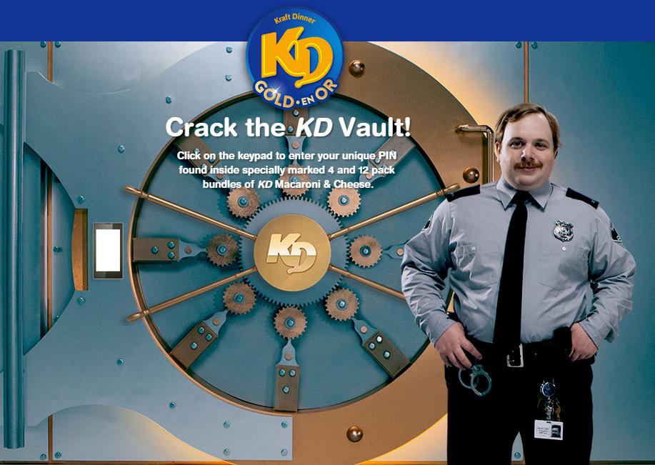 Kraft Dinner #GoldenNoodle DoTheDaniel.com Crack the Vault