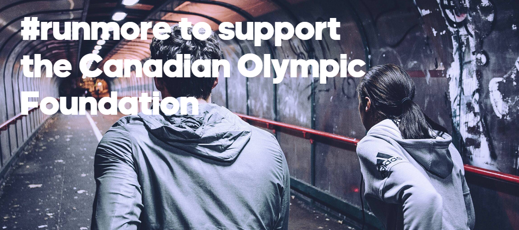 #runmore in support of Canadian Olympic Foundation