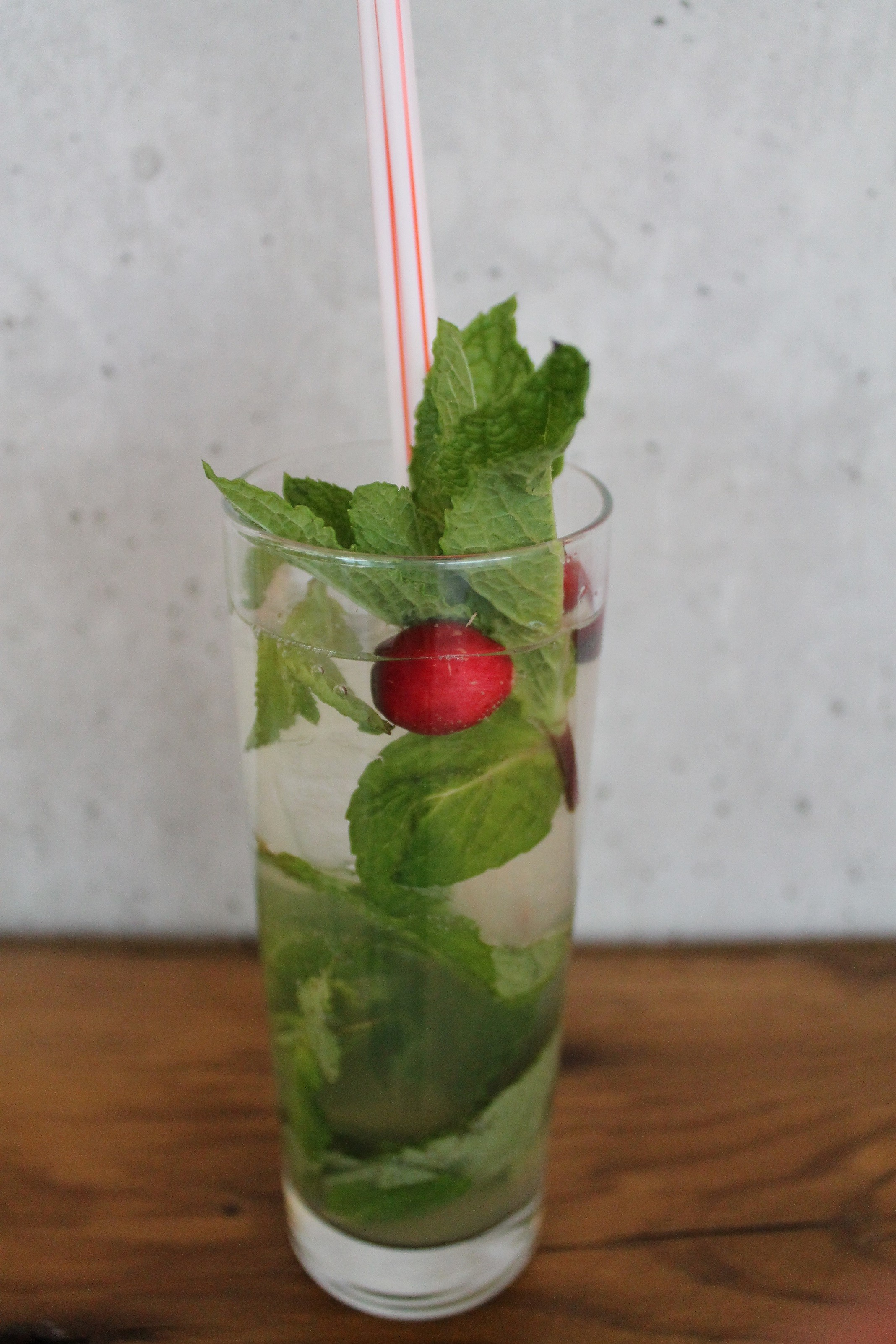 Captain Morgan Christmas Mojito