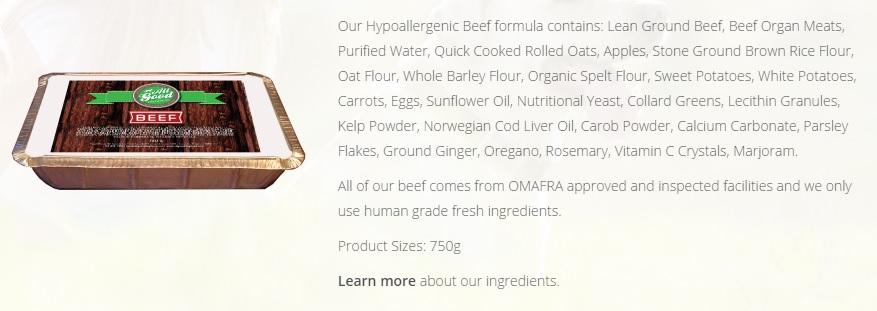 #HealthyFoodHealthyDog All Good Dog Food Co. DoTheDaniel Beef