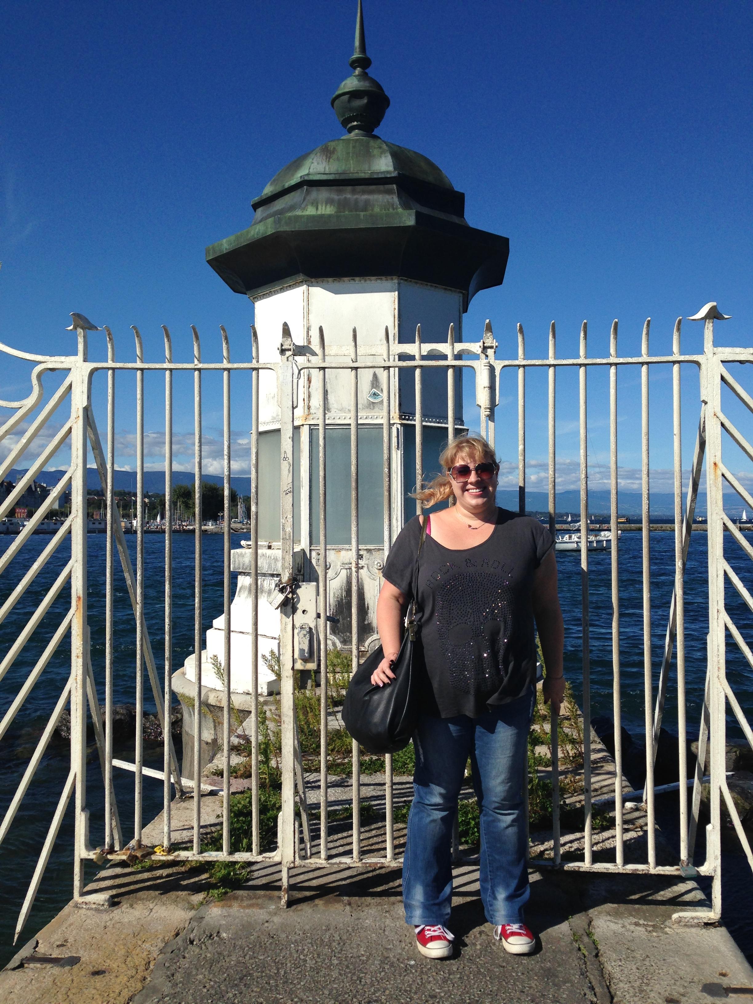 Nic at lighthouse