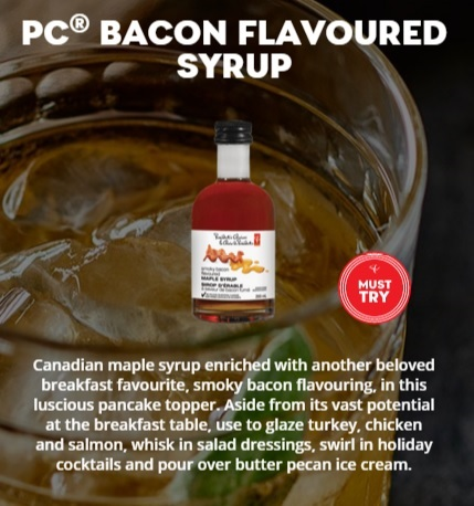 PC® Smoky Bacon Flavoured Maple Syrup #PCInsidersBoutique DoTheDaniel