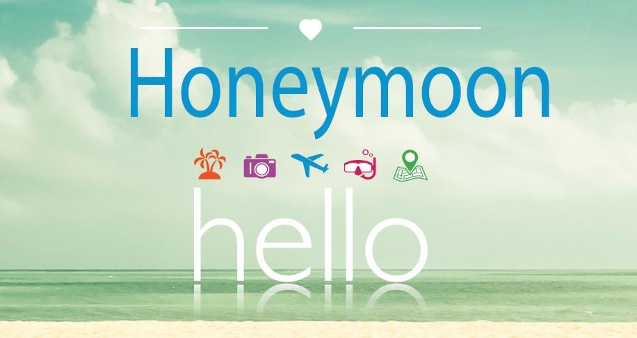 #SayHelloToLove Honeymoon Image DoTheDaniel