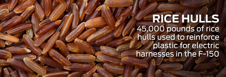 #FordFarmToCar Rice Hulls DoTheDaniel