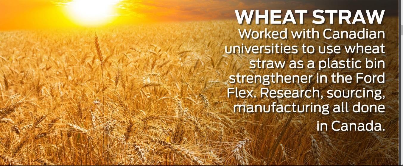 #FordFarmToCar Wheat Straw DoTheDaniel