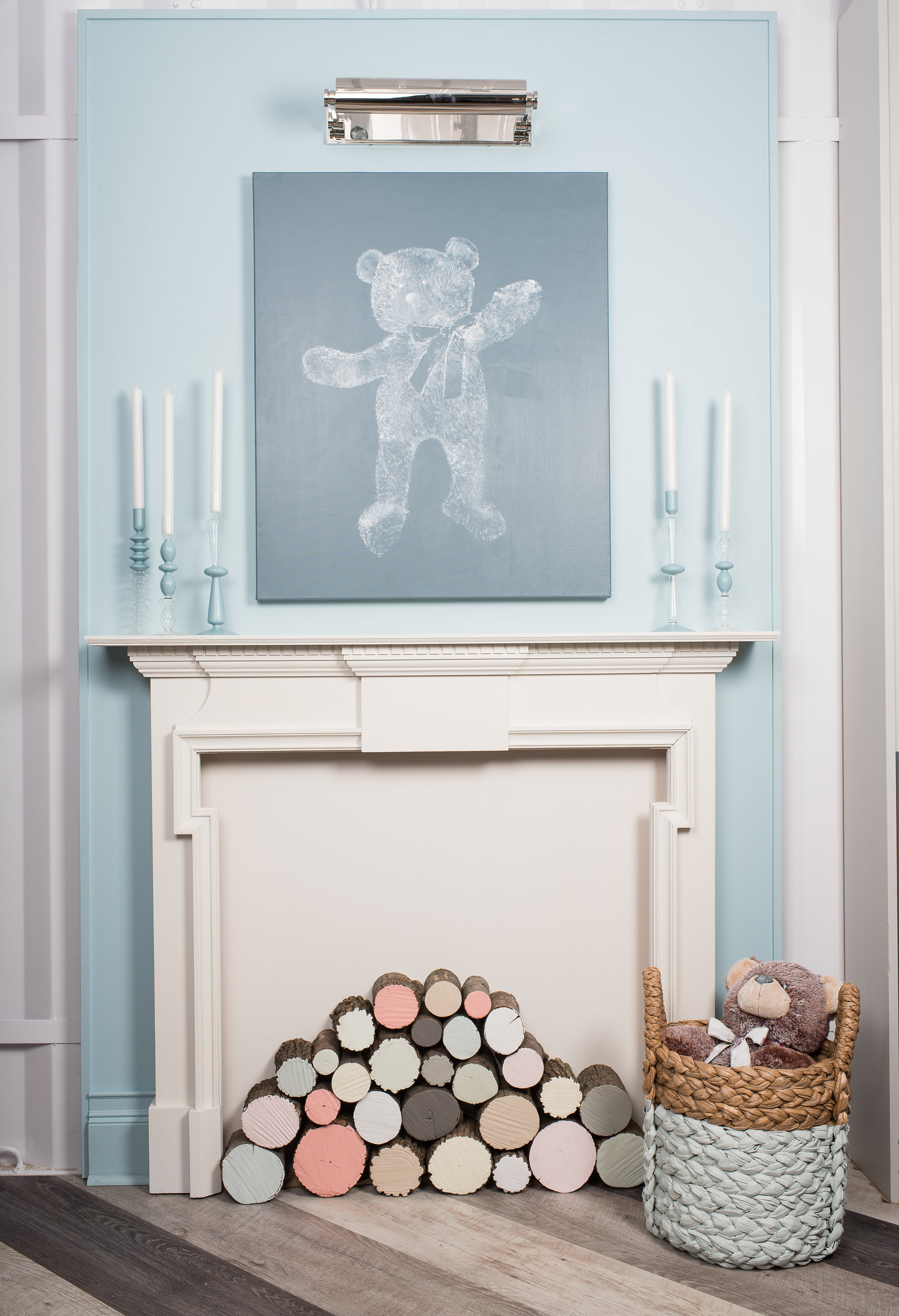 Teddy Bear - Fire Place