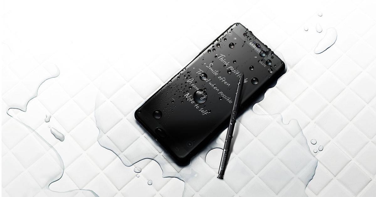 DoTheDaniel.com #GalaxyNote7 Samsung Canada Water-Resistant