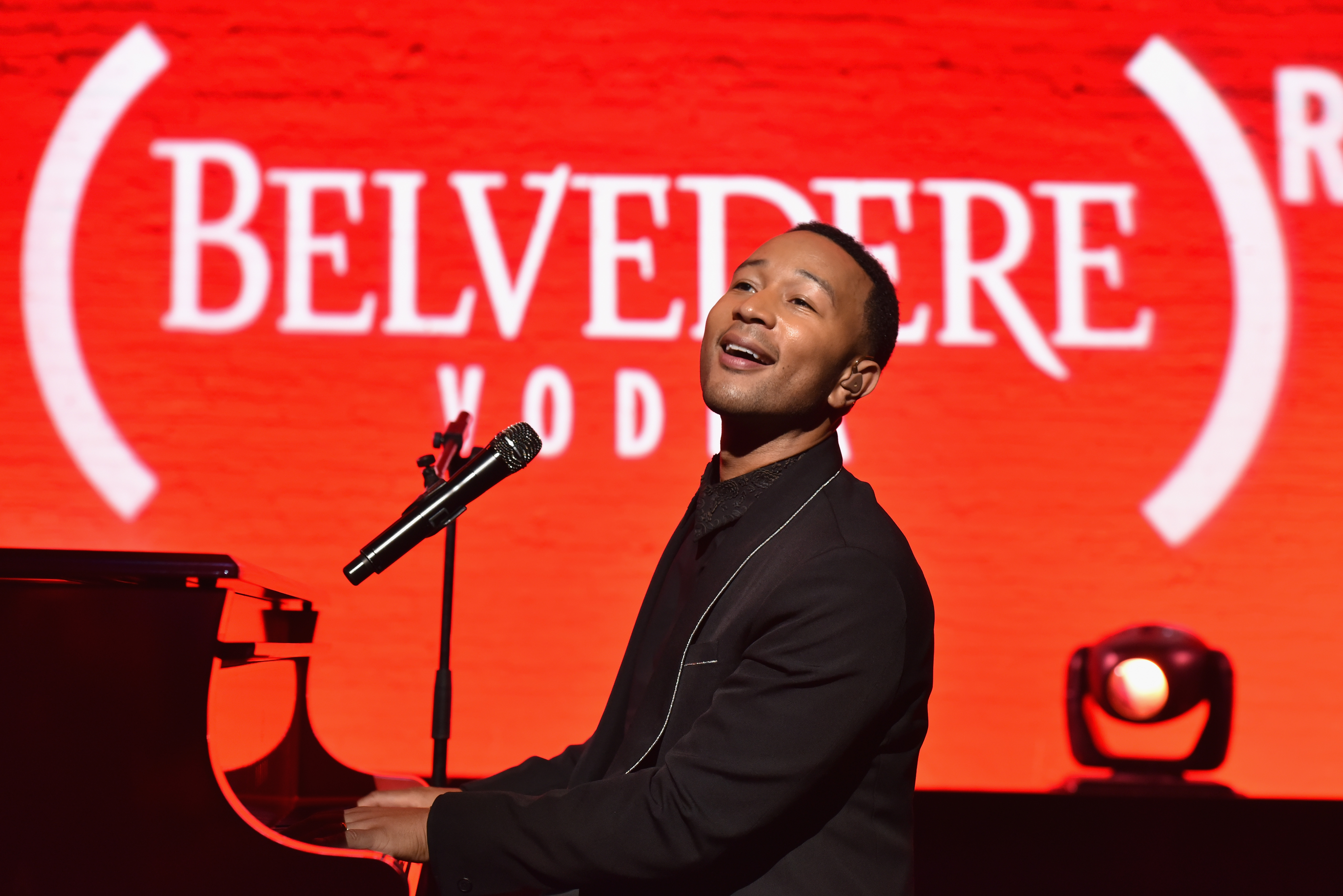 NEW YORK, NY - AUGUST 27: John Legend attends the Belvedere Presents One Night for Life with John Legend at the Apollo Theater at The Apollo Theater on August 27, 2016 in New York City. (Photo by Jared Siskin/Patrick McMullan via Getty Images)