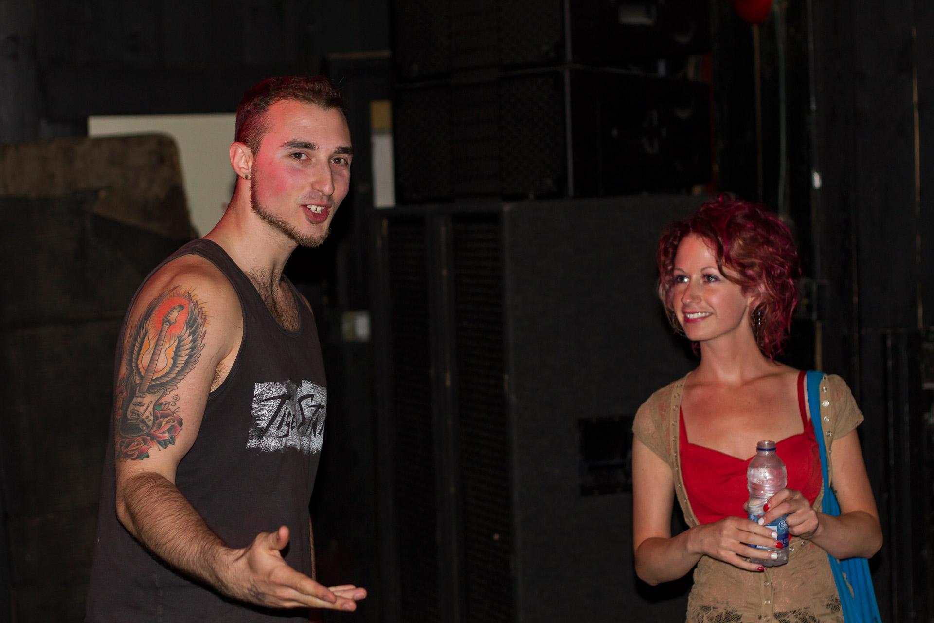 Andrew Moniz and Kez of Jackstay