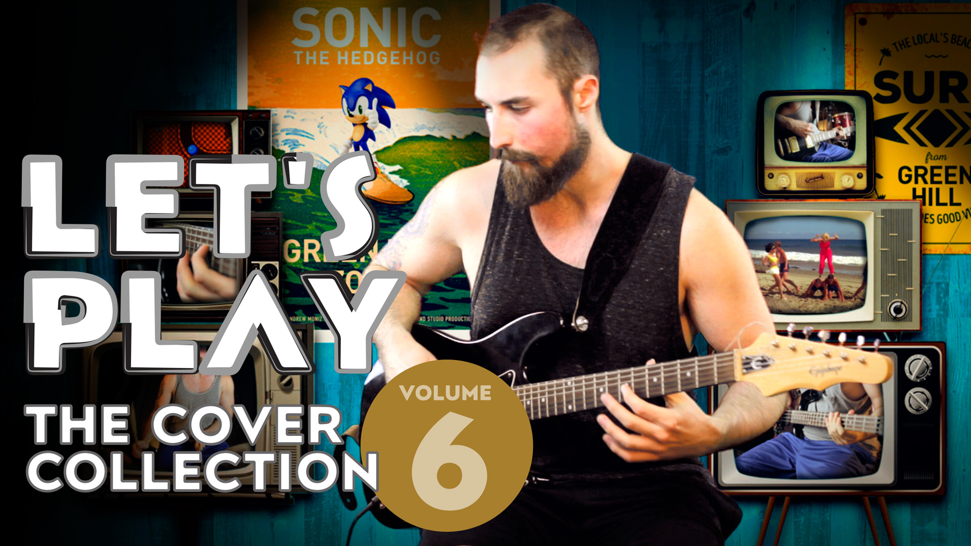 Sonic The Hedgehog 1 – Green Hill Zone (Surf Rock Cover)