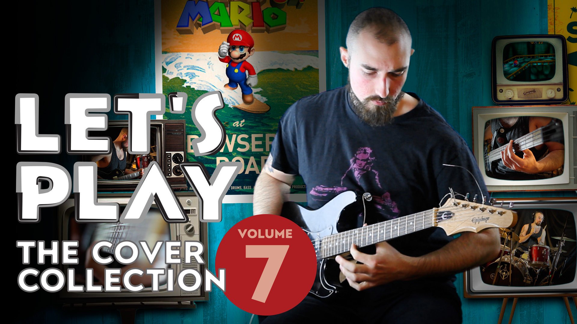Super Mario 64 – Bowser's Road (Surf Rock Cover)
