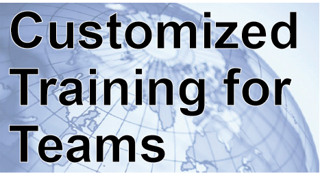 Customized Training for You and Your Team