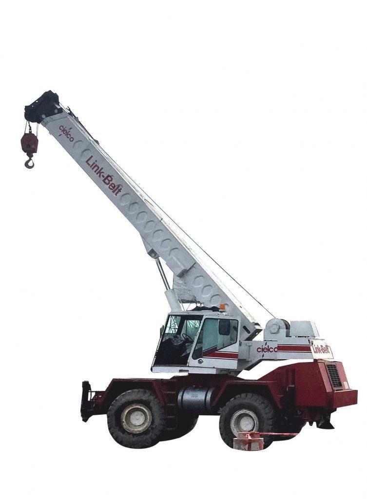 Grúa Linkbelt HSP8028S de 28 ton