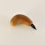 Hardwood Handgrip Brush With 1 Inch Long Goat and Synthetic Blend Bristle