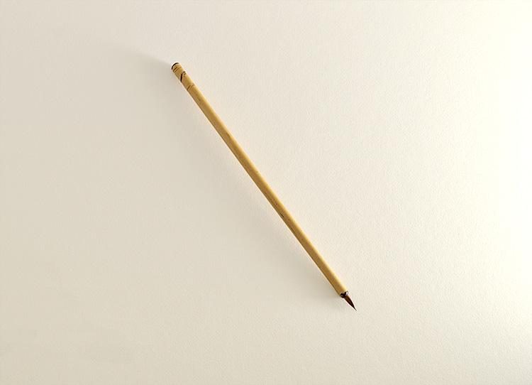 """Small diameter Siberian Elk brush with 1/2"""" long bristle"""