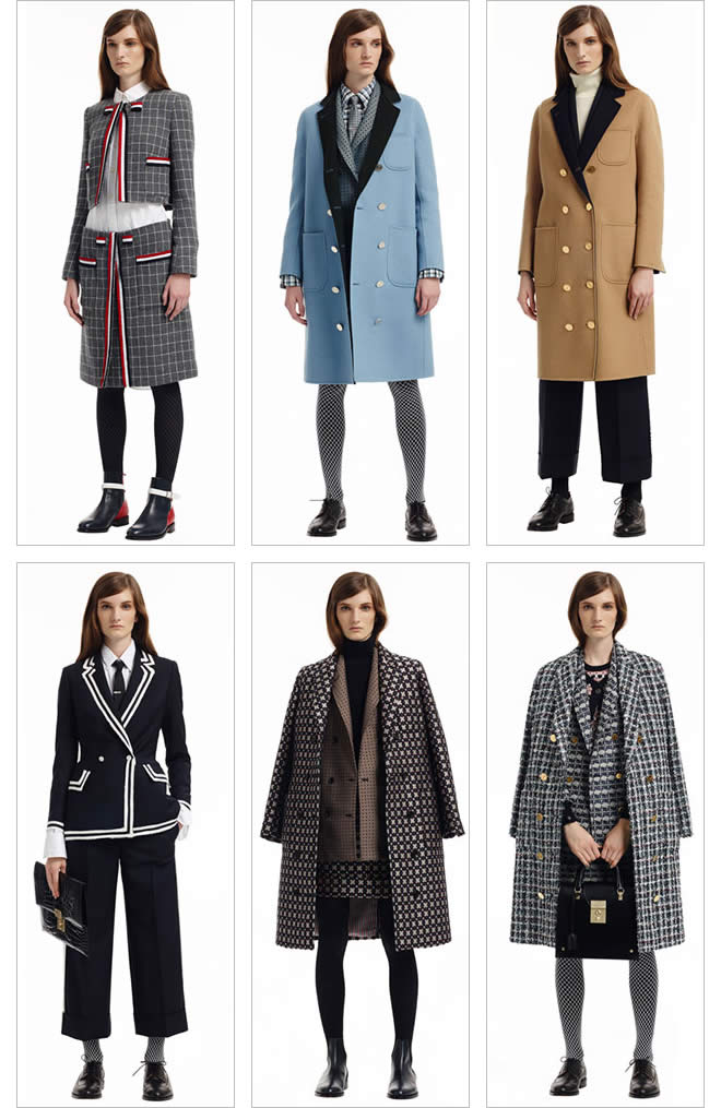 Thom Browne Women's Pre Fall - 2015 posted by twomuchstyle.com