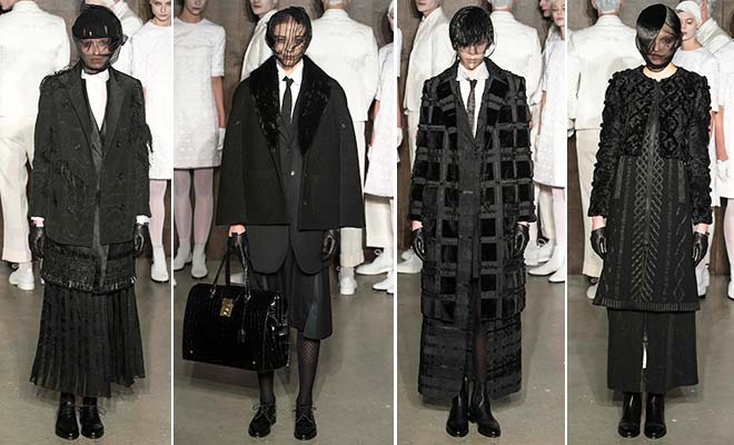 Thom Browne Fall Winter 2015 - twomuchstyle.com