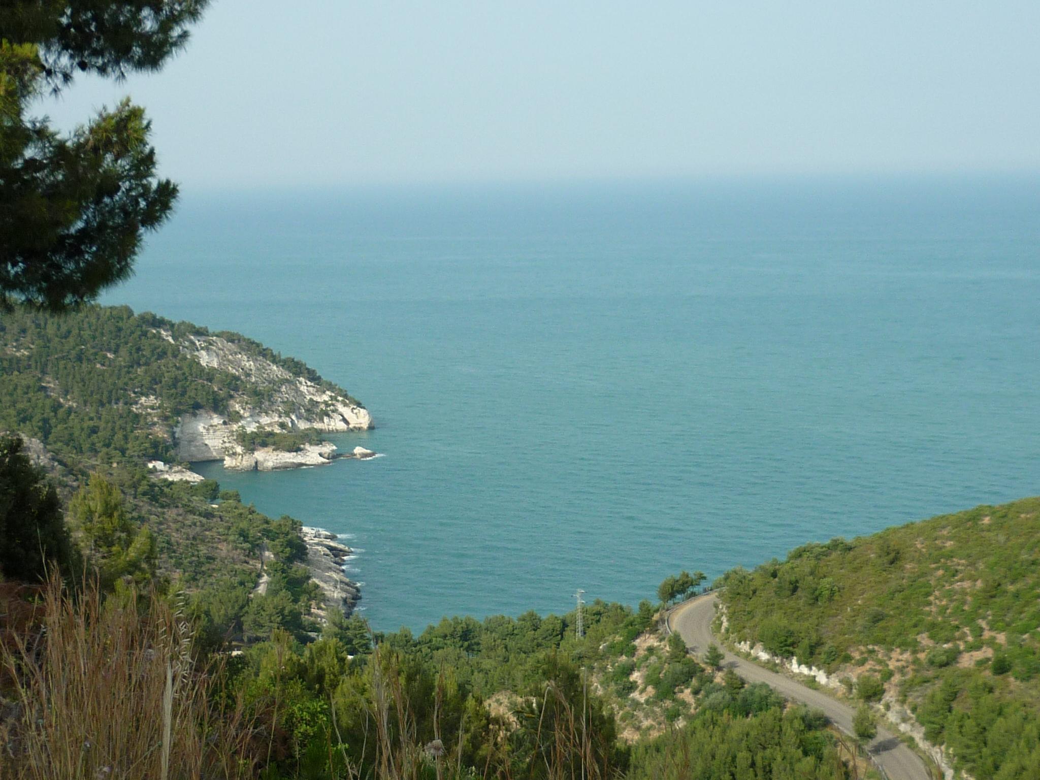 italiainpiega-pieghe meravigliose-itinerari-moto-sud-italia-gargano-costa3