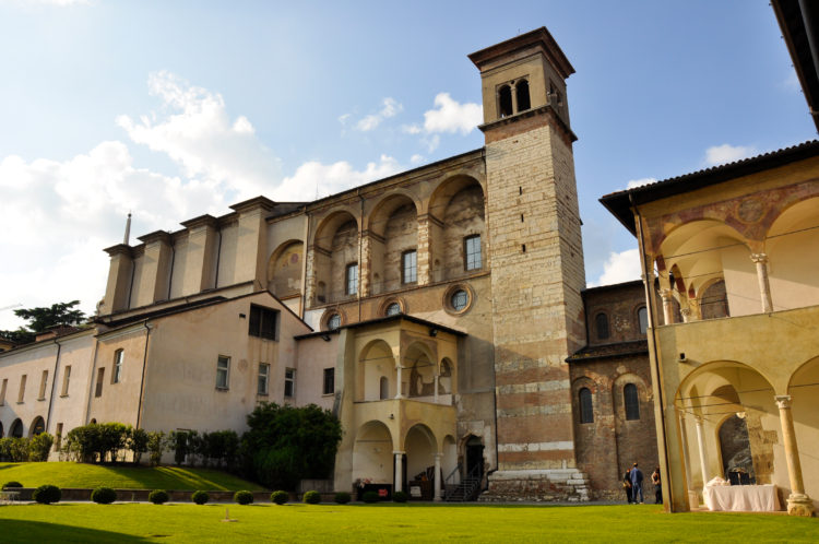italiainpiega-pieghe meravigliose-itinerari moto pianura padana-unesco-brescia-monastero santa giulia