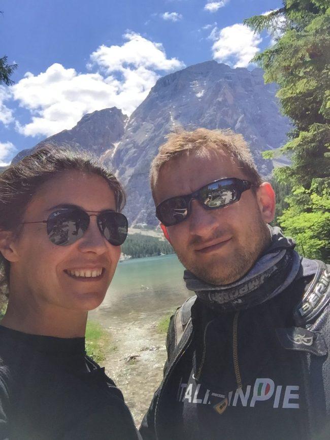 italiainpiega/pieghe meravigliose/itinerari moto nord italia/lago di braies 1