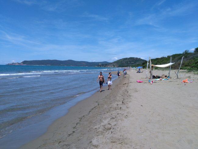 italiainpiega-pieghe meravigliose-itinerari moto centro italia-argentario-parco maremma-spiaggia di marina di alberese