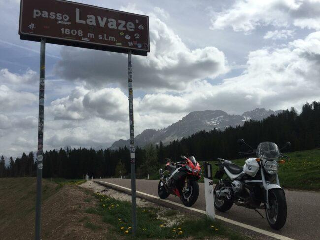 italiainpiega-pieghe meravigliose-itinerari moto nord italia-passo lavazé