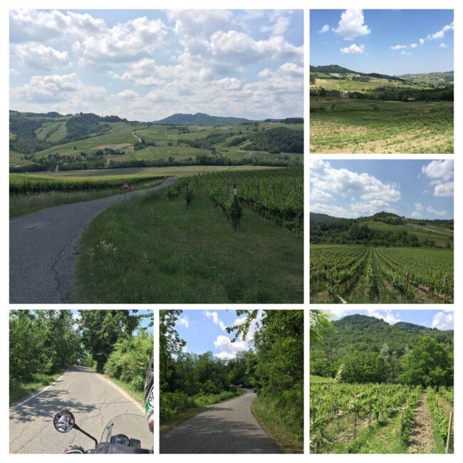 italiainpiega-pieghe meravigliose-itinerari moto nord italia-oltrepo' pavese-paesaggio