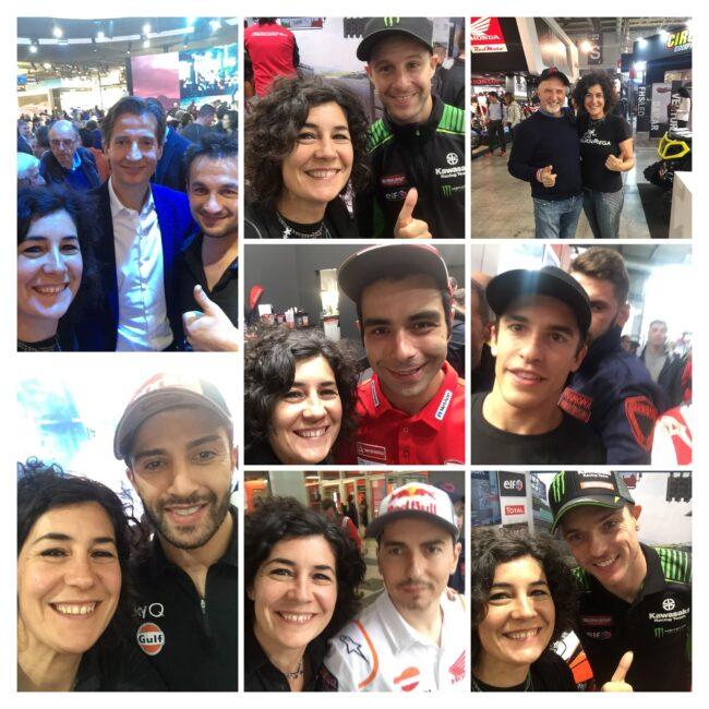 italiainpiega-evento-eicma 2019-selfie bianca