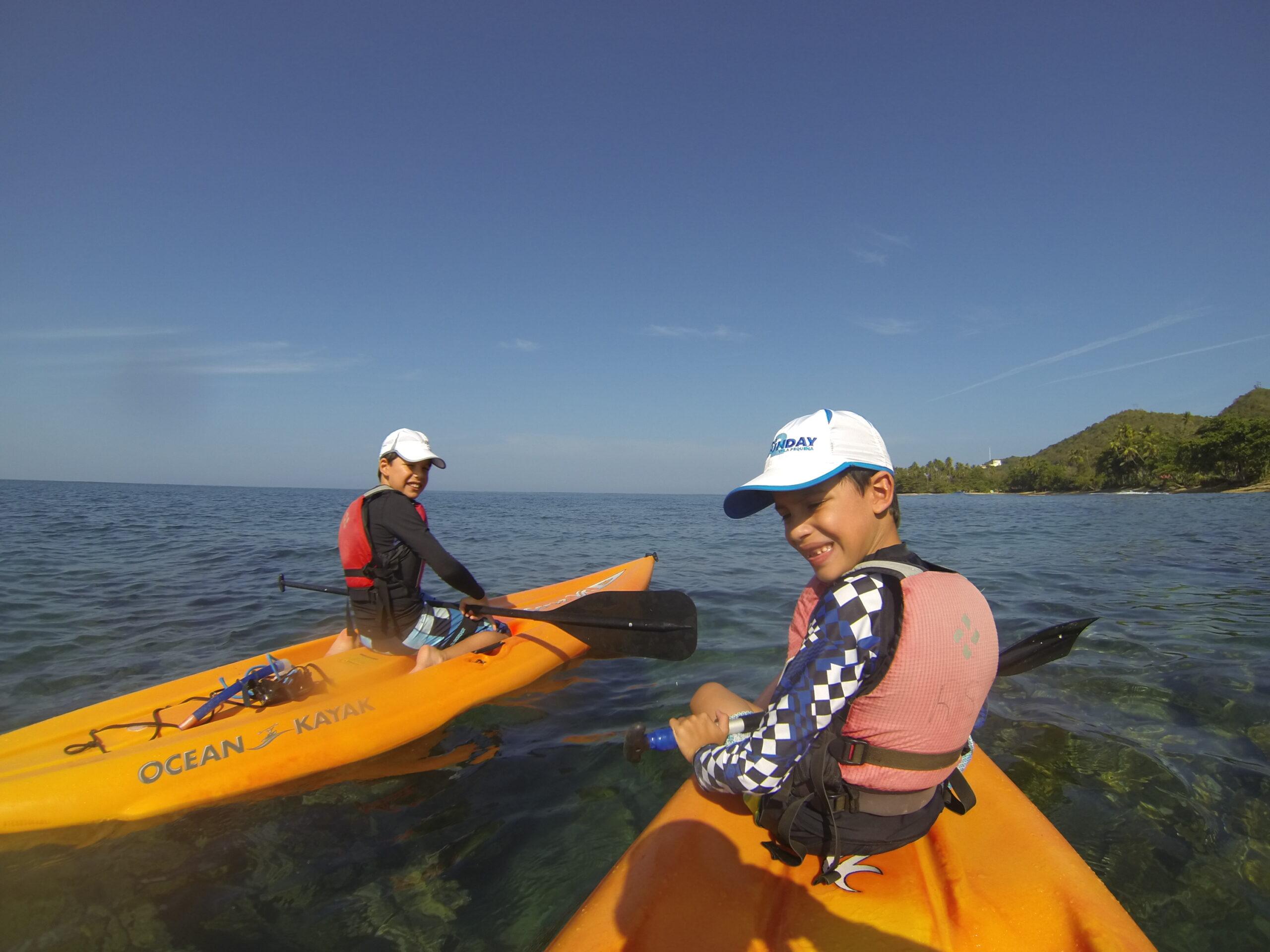Kayaking & Snorkel the Tres Palmas Marine Reserve.