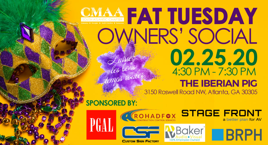 February 25 Owners' Social