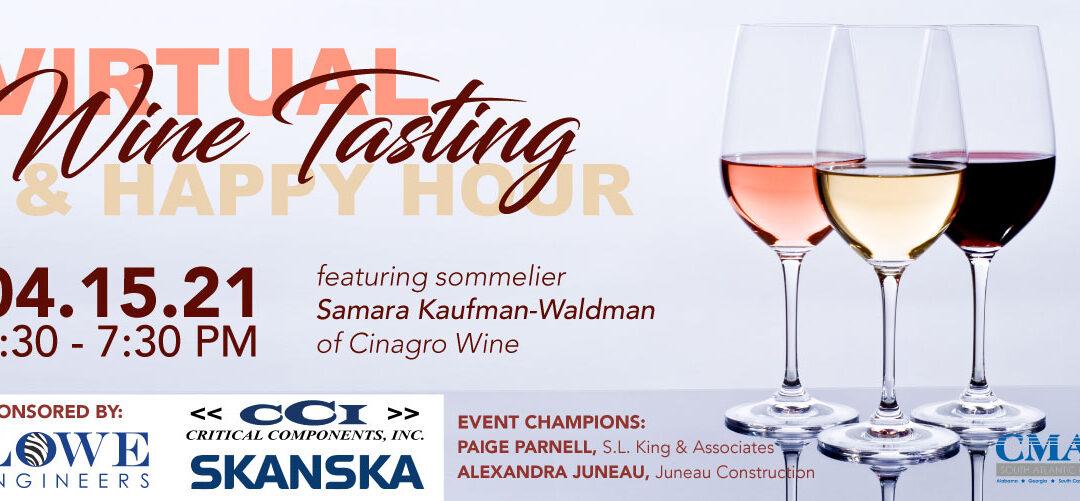 Virtual Wine Tasting & Happy Hour