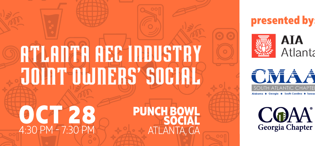 Atlanta AEC Industry Joint Owners' Social