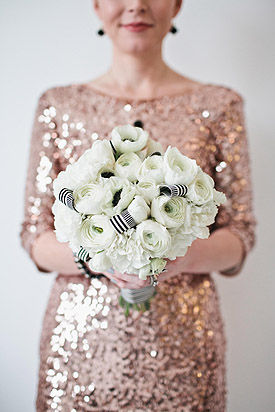Sequins & Champagne Inspiration  Featured on Ruffled